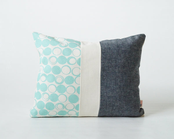 Moon Phase Patchwork Pillow Cover (More Colors)