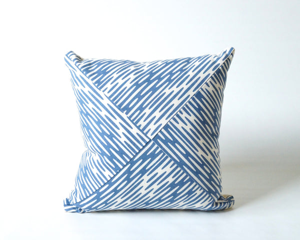 Ripplets Square Patchwork Pillow Cover (More Colors)