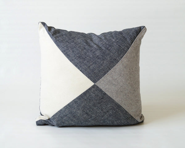 Square Patchwork Pillow Cover