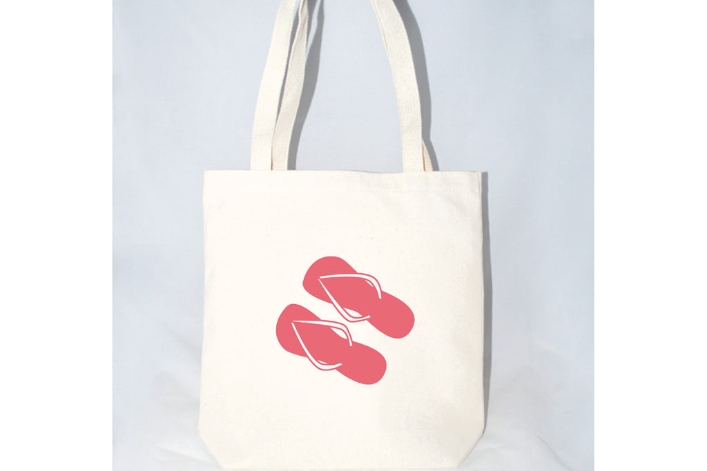 Flip Flop Tote Bag (More Colors)