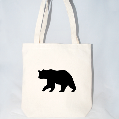 Bear Tote Bag (More Colors)