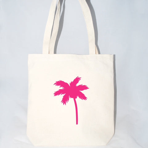 Palm Tree Tote Bag (More Colors)