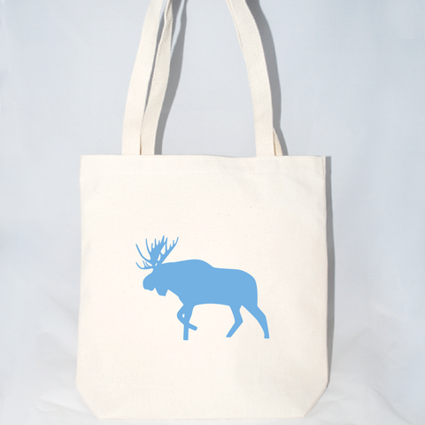 Moose Tote Bag (More Colors)