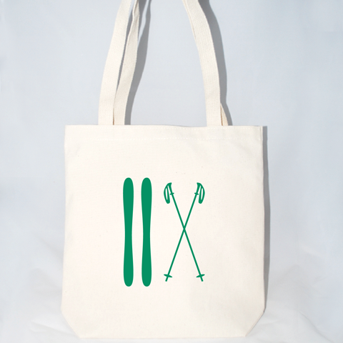 Ski Tote Bag (More Colors)