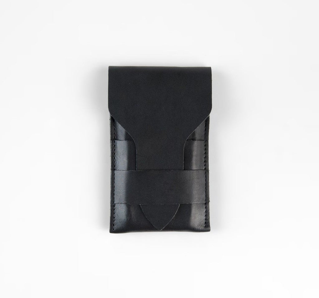 Black Phone Wallet ---