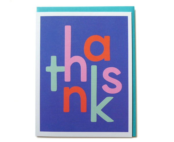 Mod Thanks Cards (Set of 6) ---