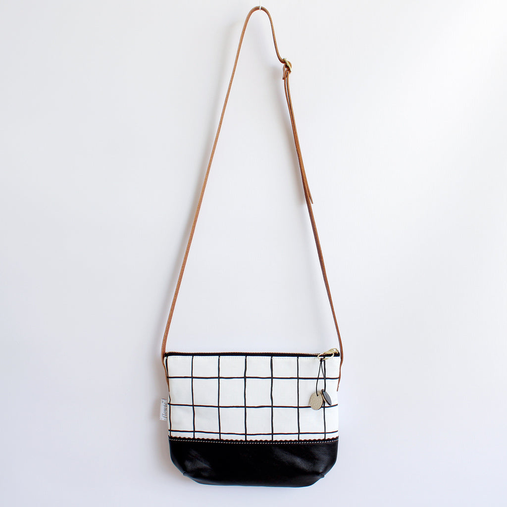 Grid Crossbody Bag (More Colors)