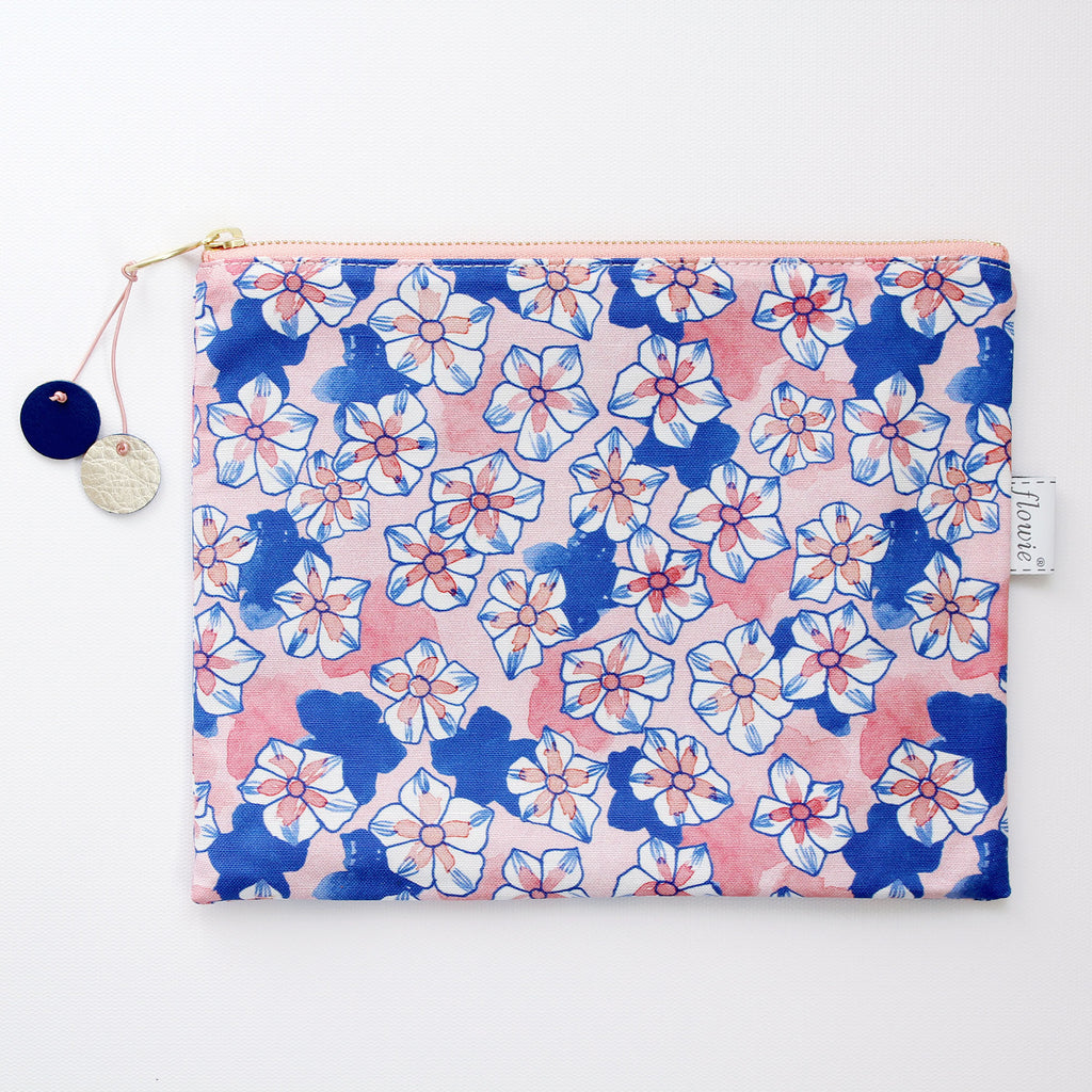 Anna Large Zipper Pouch