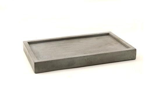 "Concrete Tray 12"" (More colors)"