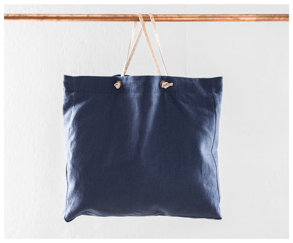 Blue Everyday Tote Bag ---