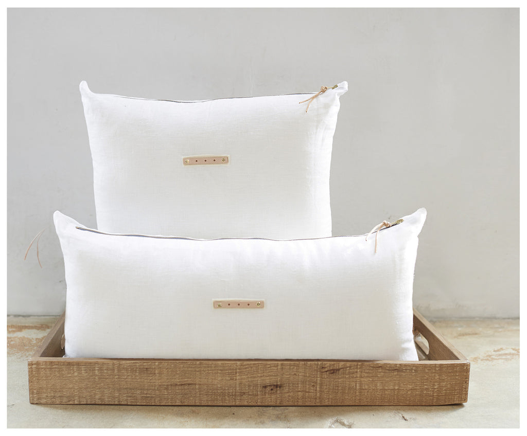 White Linen Pure Pillows