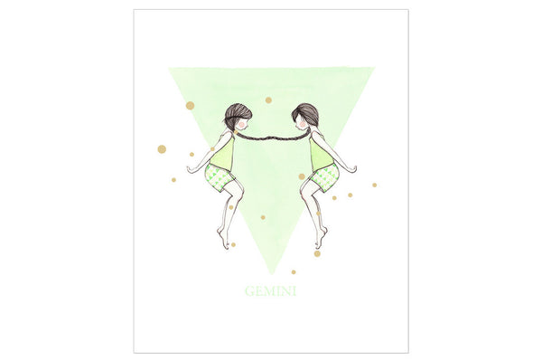 Gemini The Twin Print ---