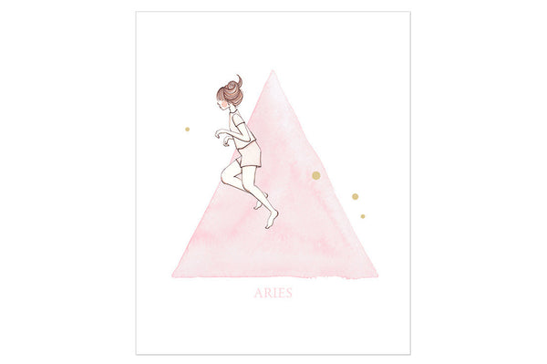 Aries The Ram Print ---