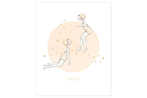 Pisces The Fish Print ---