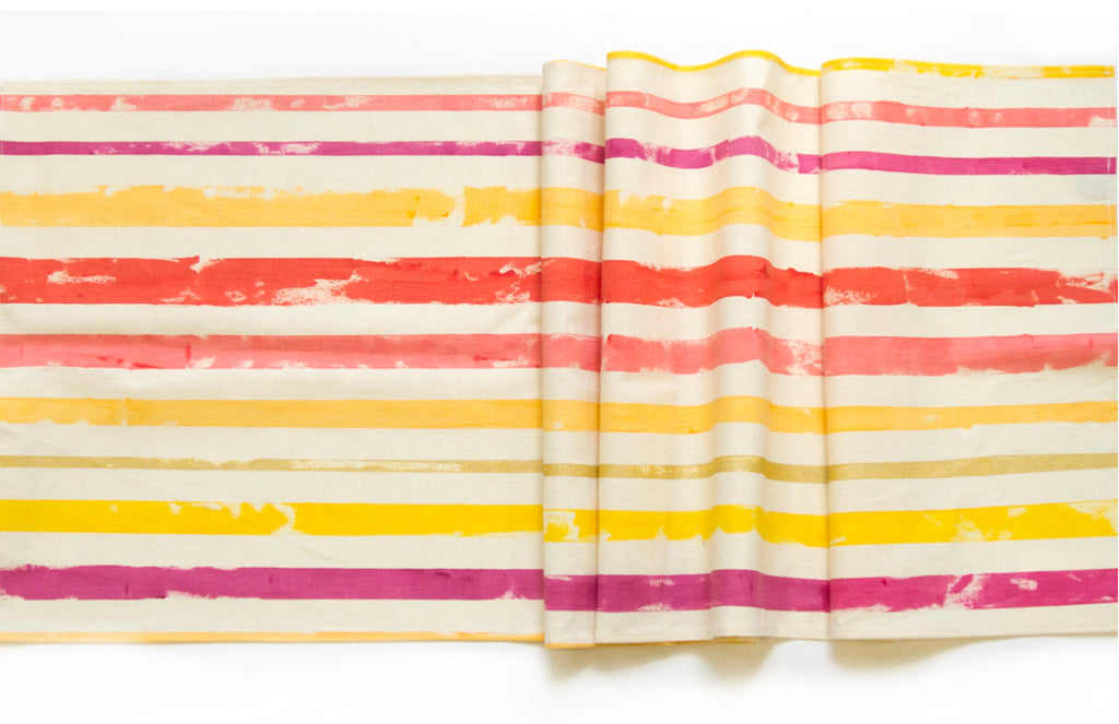 Painted Stripes Table Runner (More Colors)