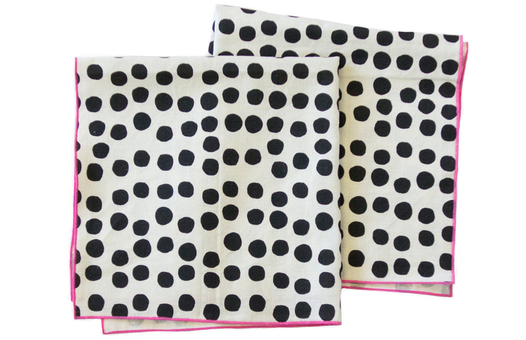 Painted Dots Napkin Set (More Colors)