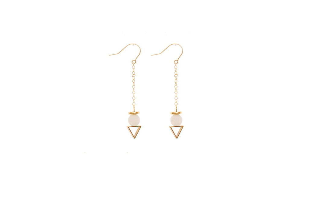 Vertex v Earrings (More Colors)