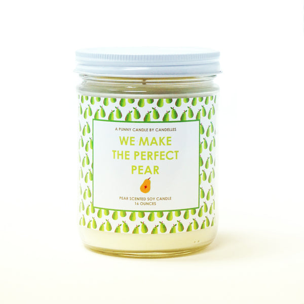 We Make The Perfect Pear Candle ---