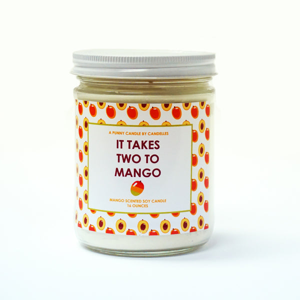 It Takes Two To Mango Candle