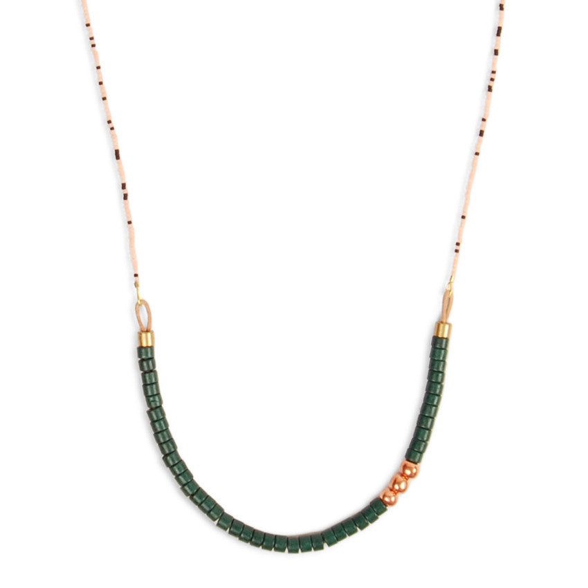 Green Coryell Necklace