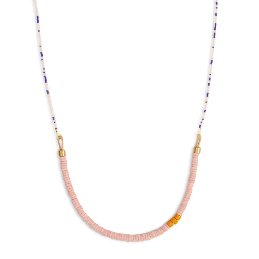 Pink Coryell Necklace