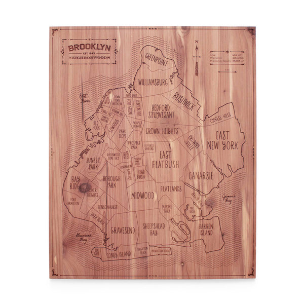 Brooklyn Map ---