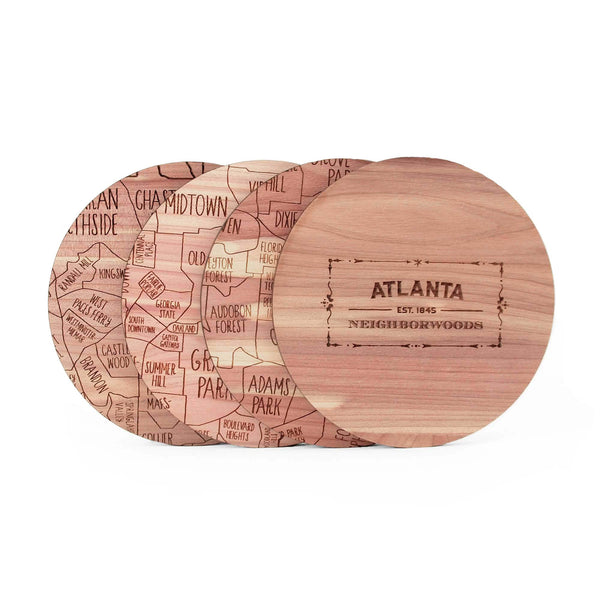 Atlanta Coasters (Set of 4)