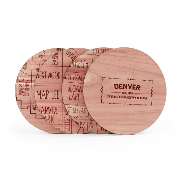 Denver Coasters (Set of 4)