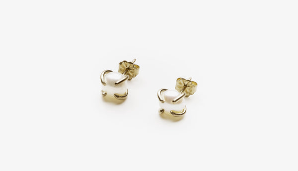 Cream Pearl Studs (More Options)