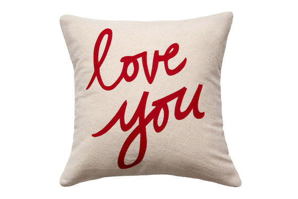 Love You Pillow (More Options)