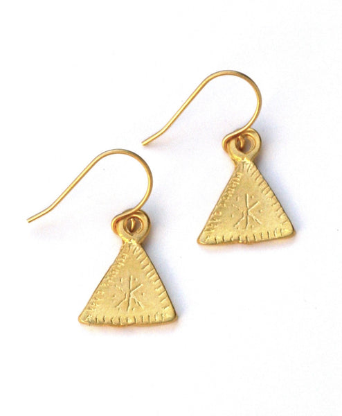 Triangle Starburst Earrings (More Colors)
