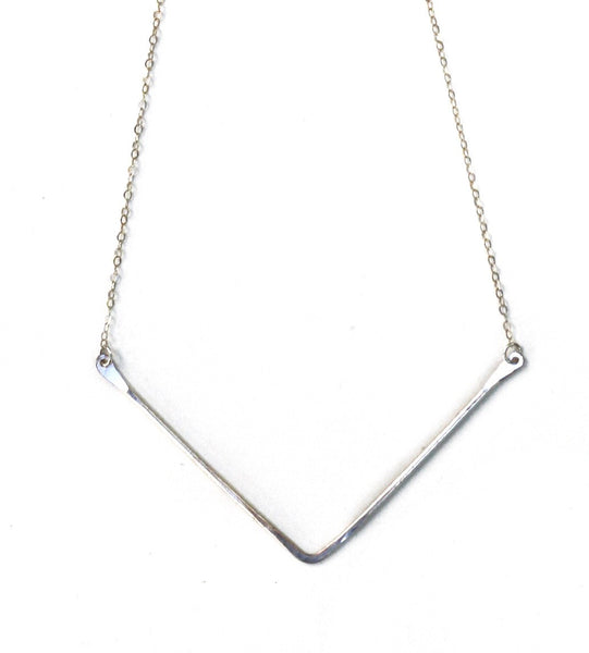 Wishbone Necklace (More Colors)