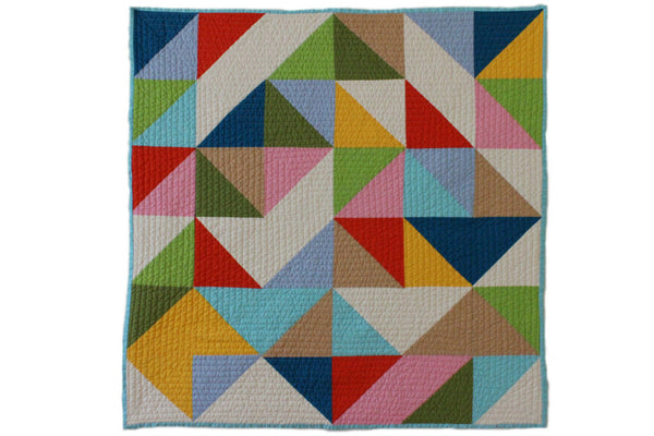 Abstract Baby Quilt ---