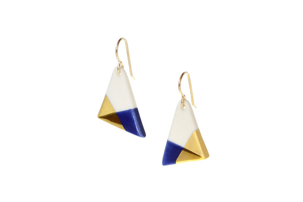 Triangle Dangle Earrings (More Colors)