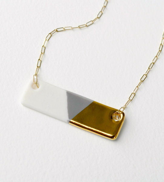 Large Bar Necklace (More Colors)