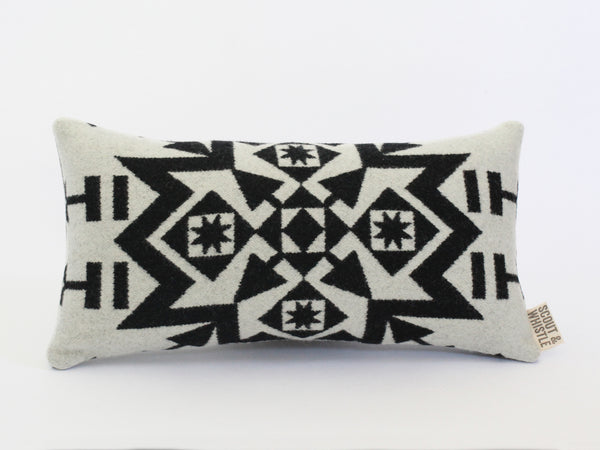 Snowflake White Pillow