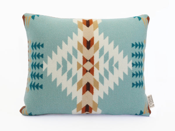 Echo Blue Pendleton Pillow