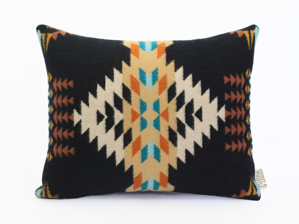 Echo Black Pendleton Pillow