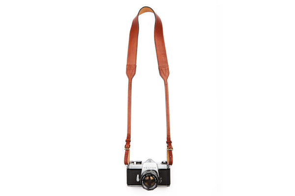 Classic Brown Camera Strap ---
