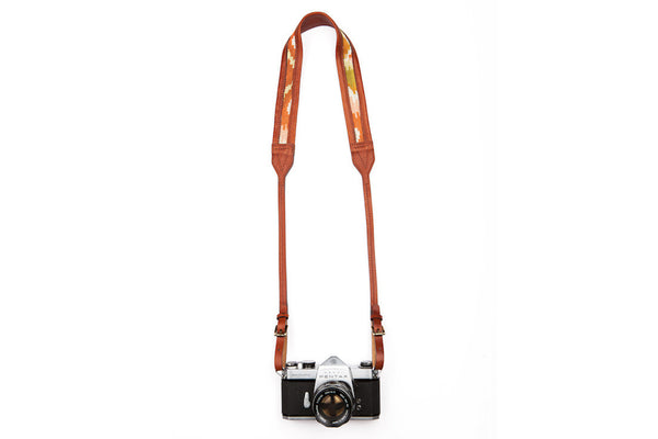 Brown Nomad Camera Strap ---