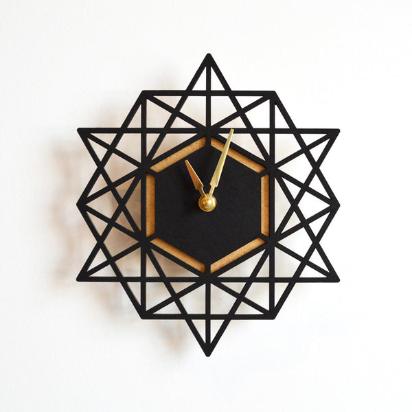 Geometric Clock (More Colors)