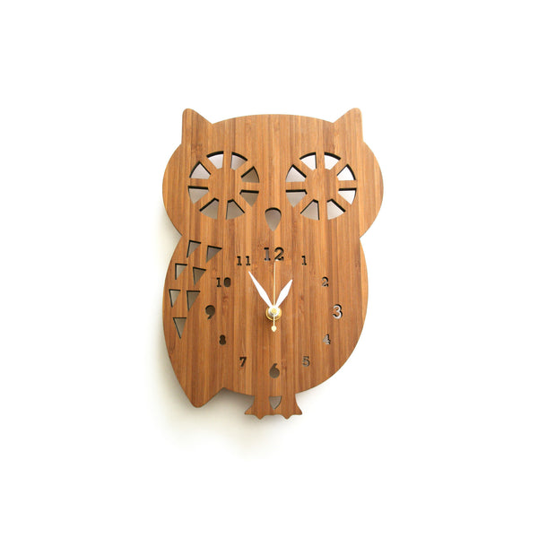 Buddy Owl Clock ---