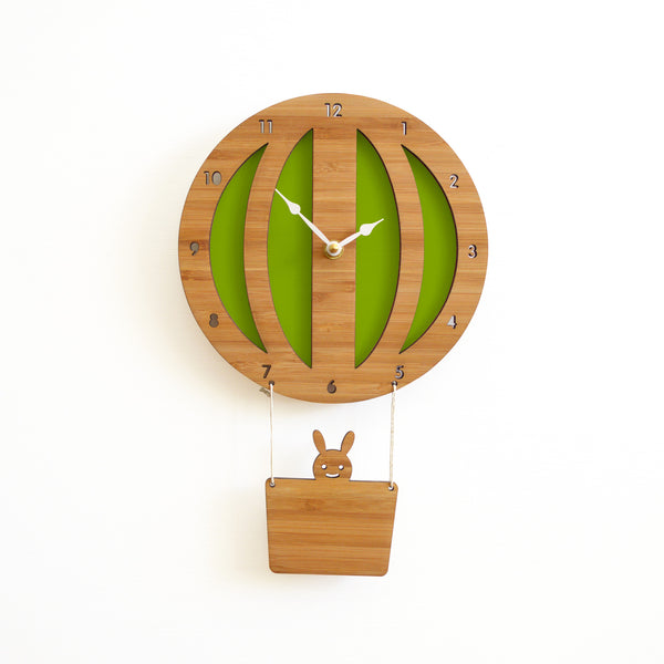 Hot Air Balloon Clock (More Colors)