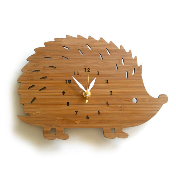 Hedgehog Clock ---