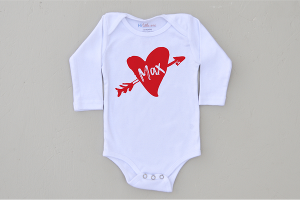 Cupid Personalized Onesie (More Options)
