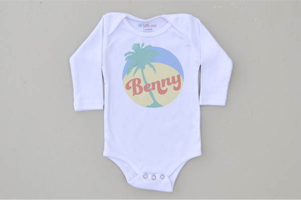 Personalized Islander Onesie (More Options)