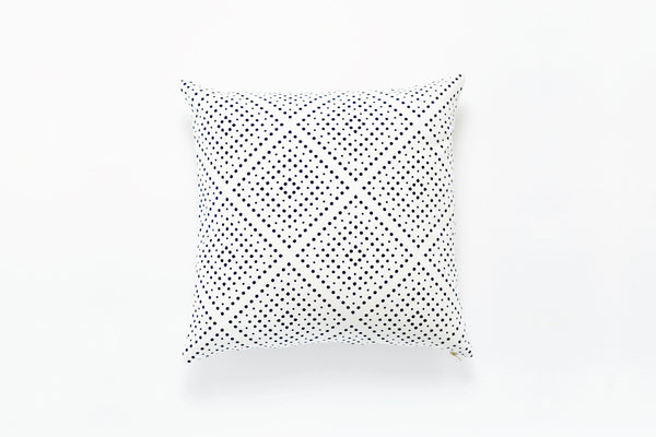 Navy Didot Pillow Cover (More Options)
