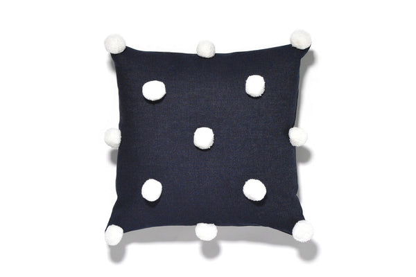 Pom Pom Pillow Cover (More Colors)
