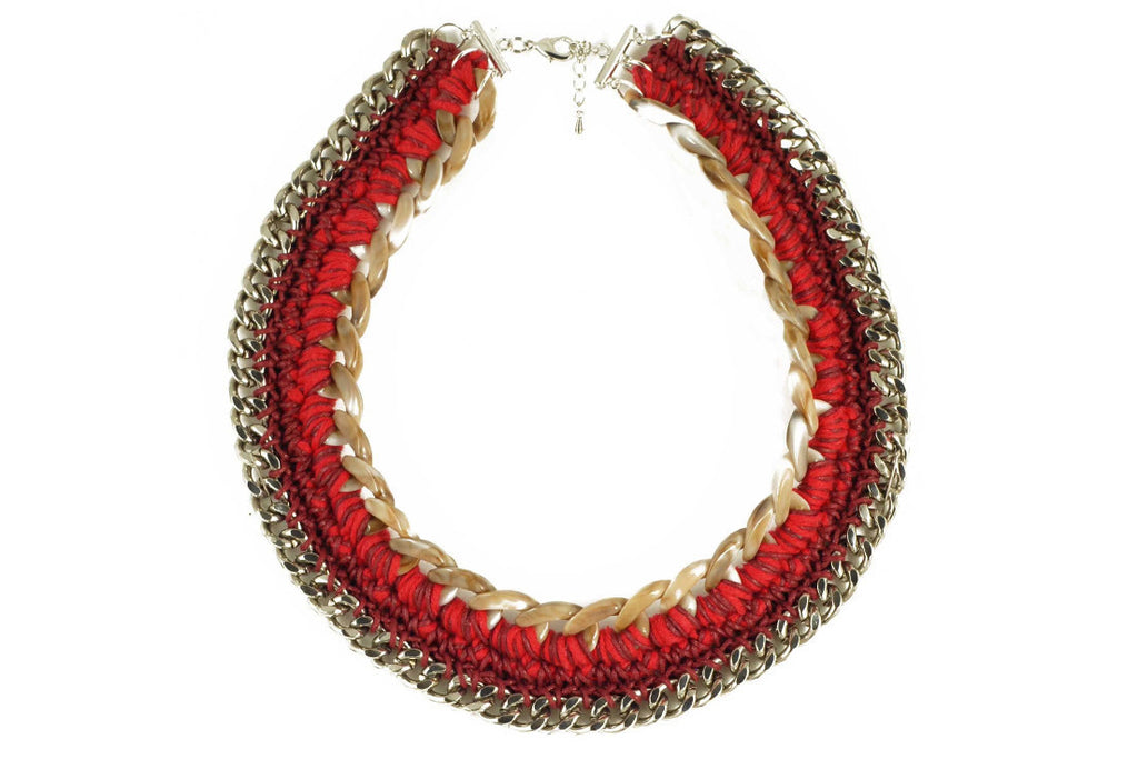 Red Beni Necklace