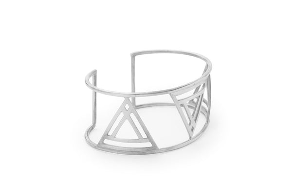 Banded Triangle Bangle (More Options)
